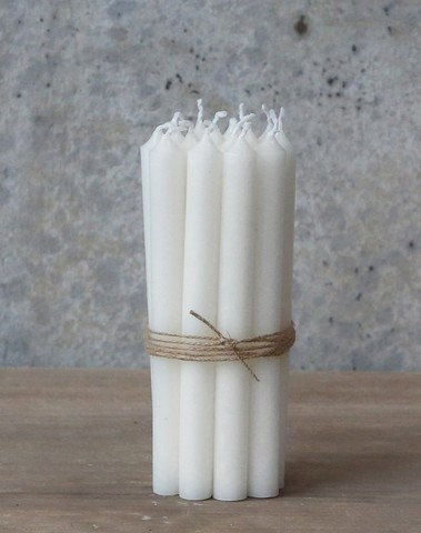 Korte dunne diner kaarsen