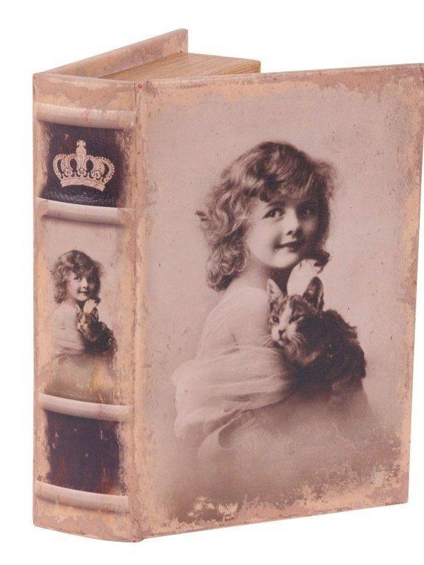 Vintage nep boek 15 cm