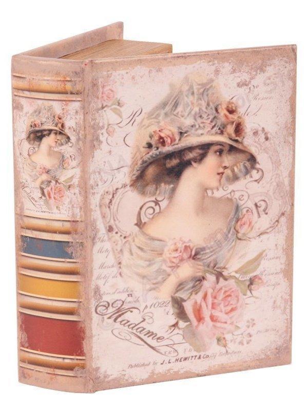 Vintage nep boek Lady 20 cm