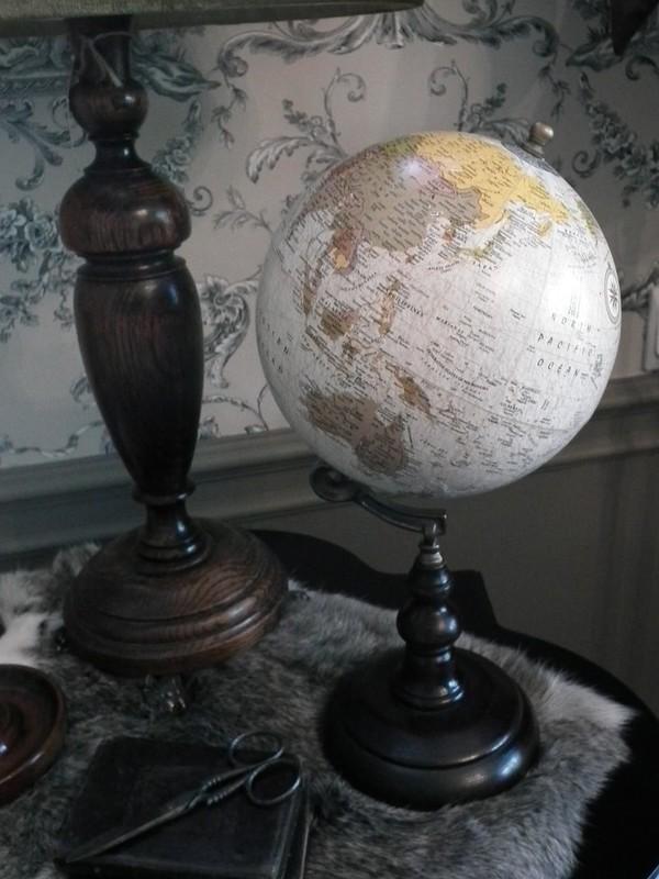 Wereldbol H 34 cm
