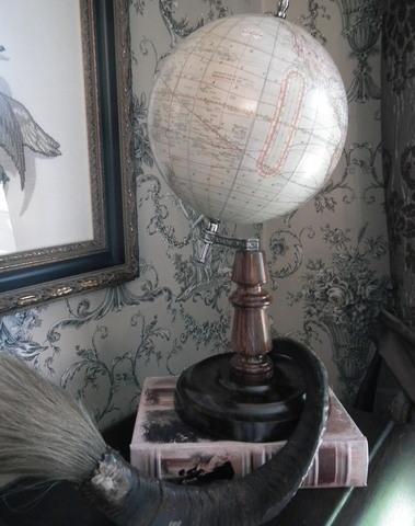 Wereldbol Hondius H 39 cm