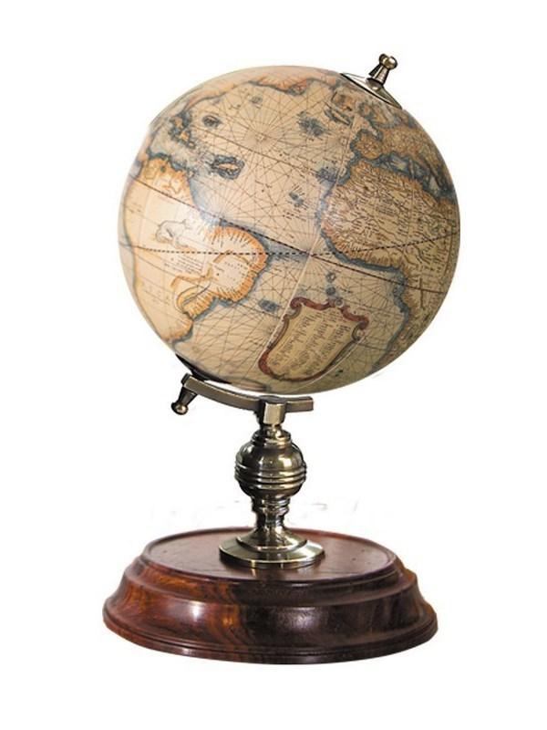 Wereldbol Mercator H 20 cm