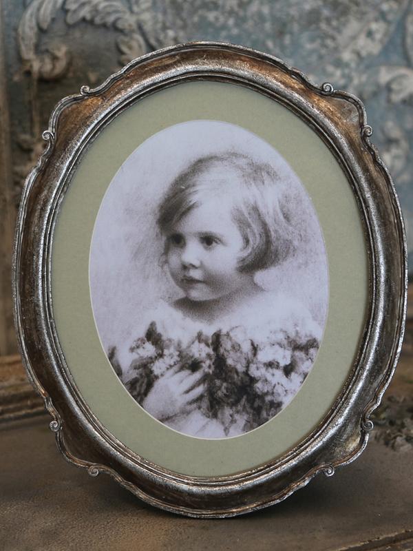 Fotokader old french antique silver