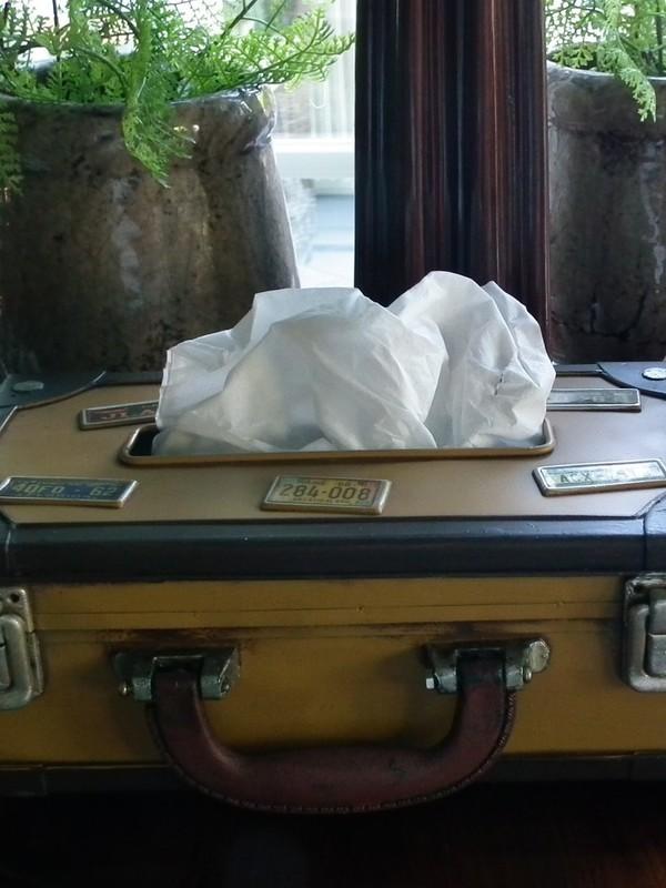 Landelijke tissuebox