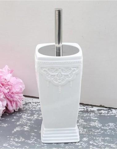 WC borstel met keramische pot chic elegant