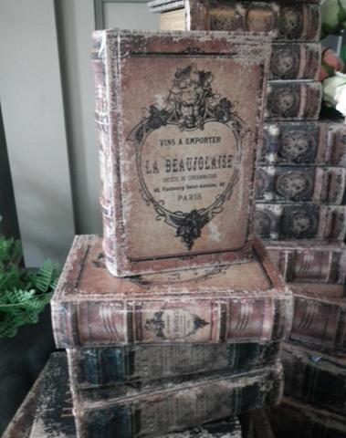 Boekendoos La Beaujolaise 15 cm