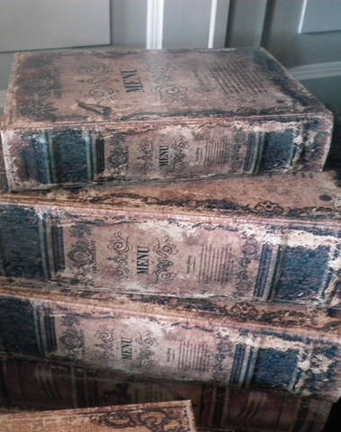Boekendoos  Menu 20 cm