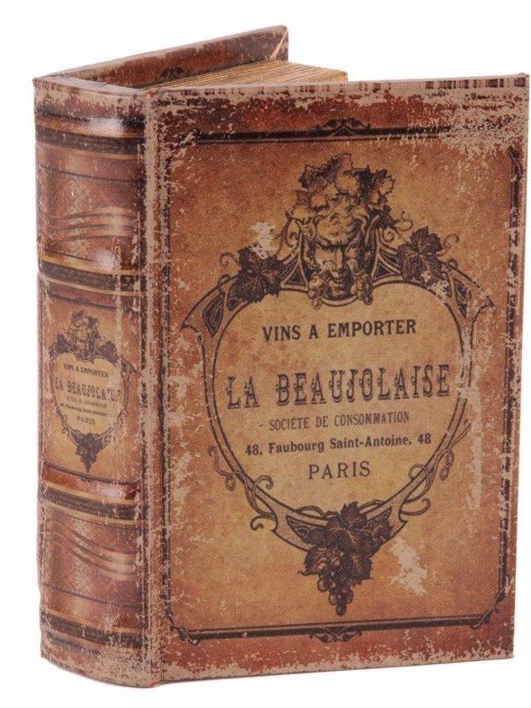 Boekendoos La Beaujolaise 20 cm