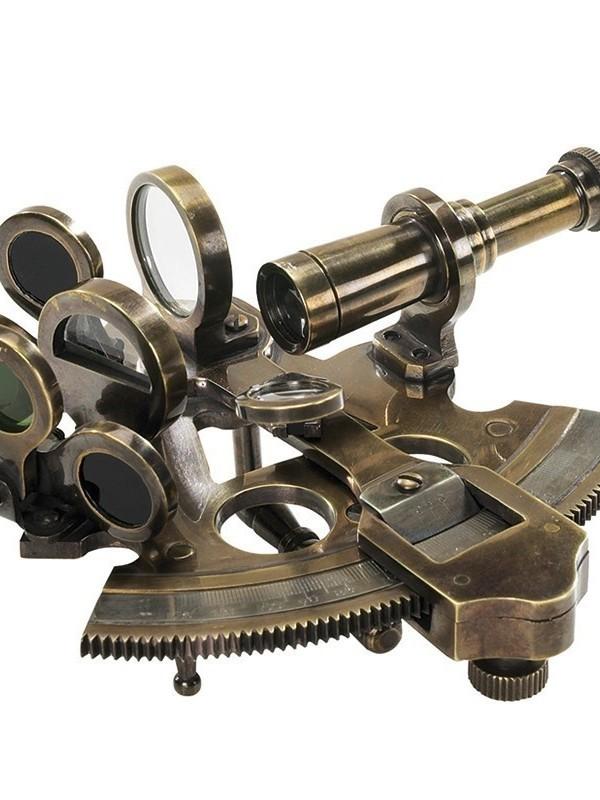 Bronze pocket sextant
