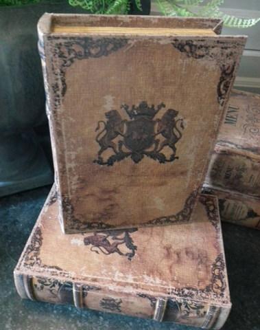Boekendoos Wapenschild 23 cm