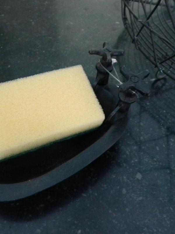 Nostalgisch zeep of sponsschaaltje
