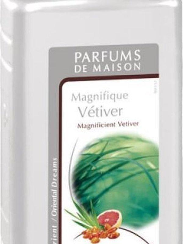 Navulling brander Magnifique Vétiver 500 ml