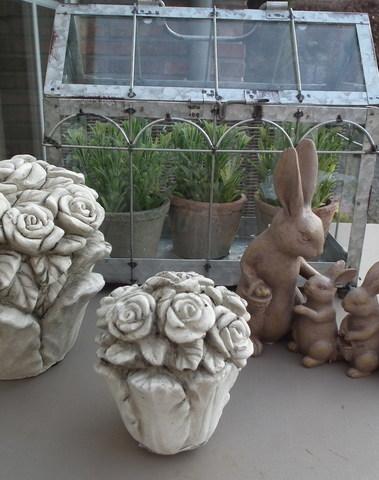 Set rozen potjes