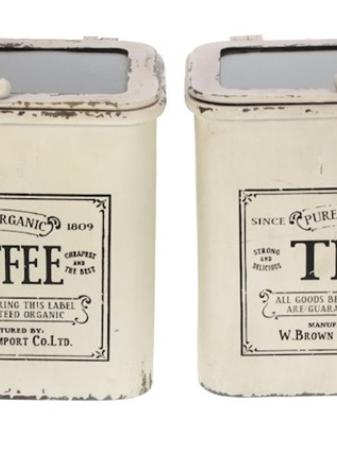 Brocant voorraad set van coffee & thee