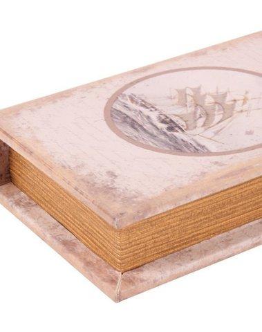 Boekendoos zeilboot 20 cm