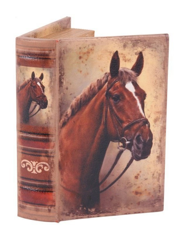 Boekendoos Paard 15 cm