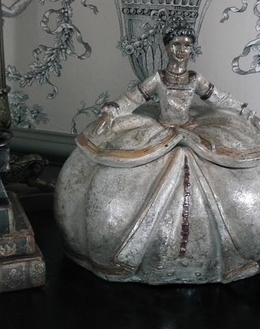 Lady Elizabeth als opbergdoos