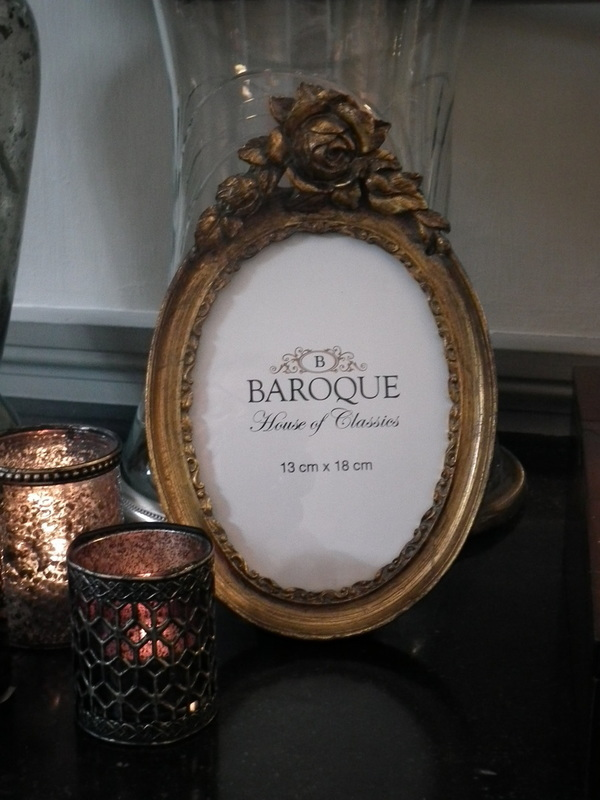 Fotokader ovaal Barok 13 x 18 cm