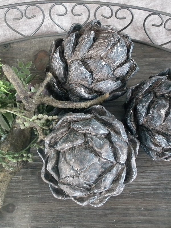 Vetplantjes op tak