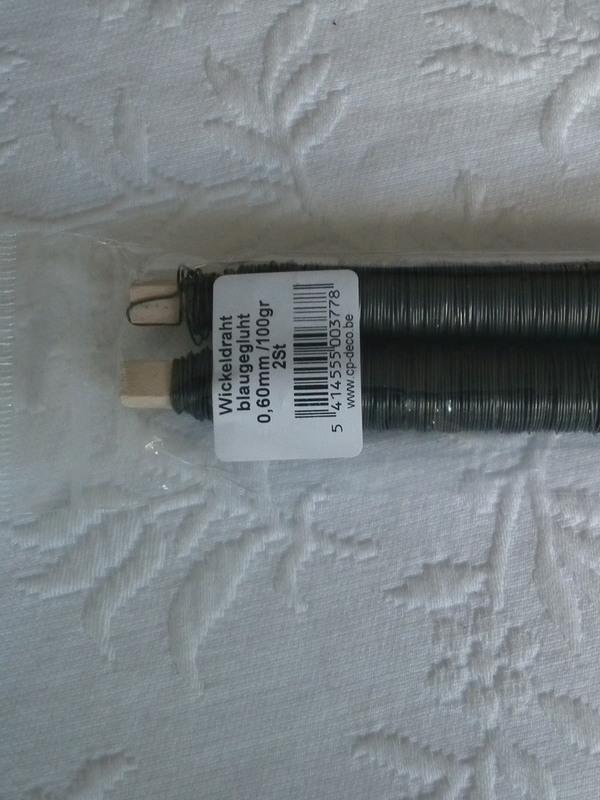Wikkeldraad 2 st. 0.60mm / 100 gr
