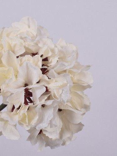 Hortensia 56 cm crème