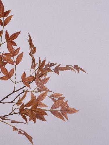 Blad esdoorn rood & bruin 74 cm