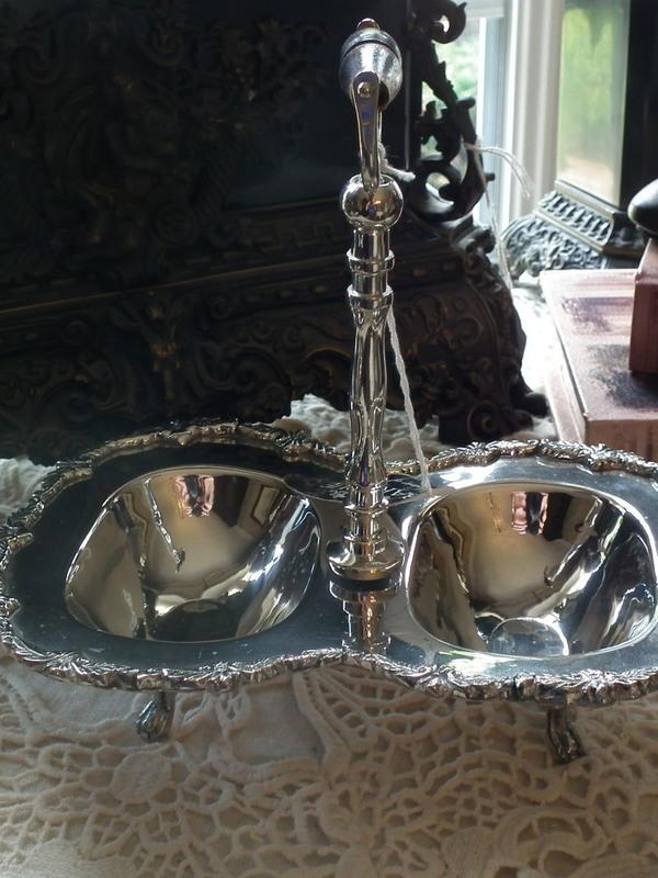 Zilveren presenteer schaaltje