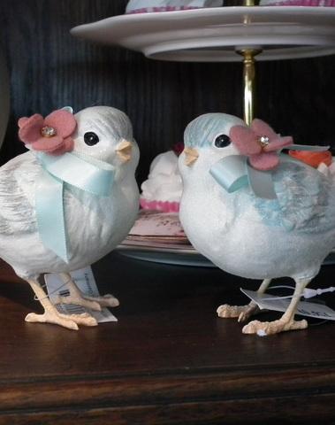 Set vintage vogeltjes