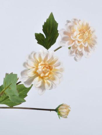 Dahlia crème 65 cm