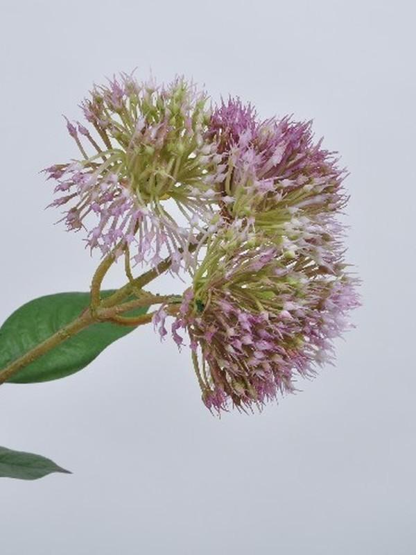 Distel tak  lavendel groenig 61 cm
