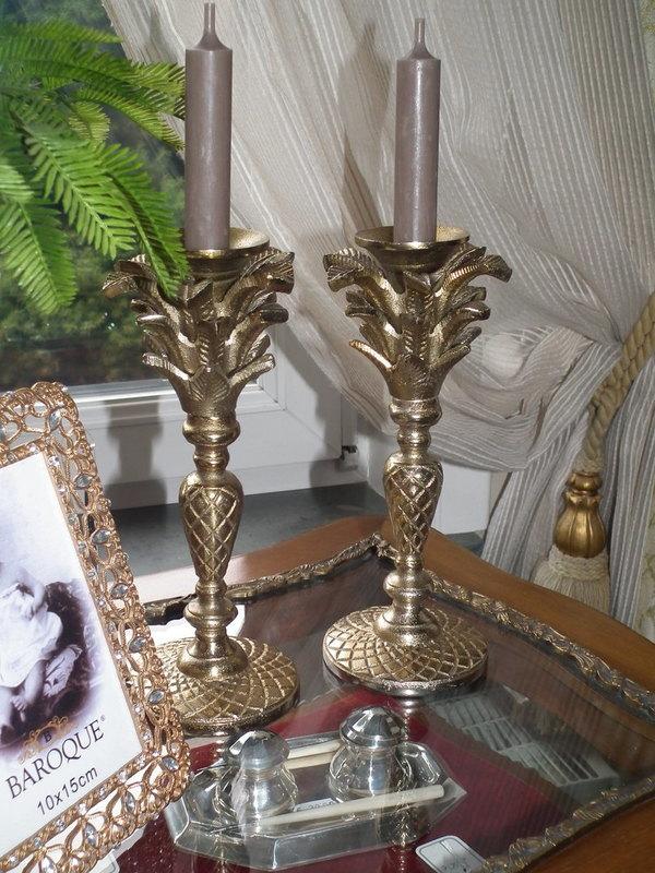 Kandelaar goud Estella H 24 cm