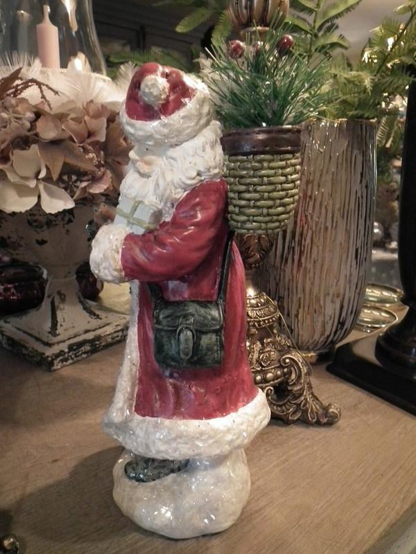Kerstman rood H 30 cm