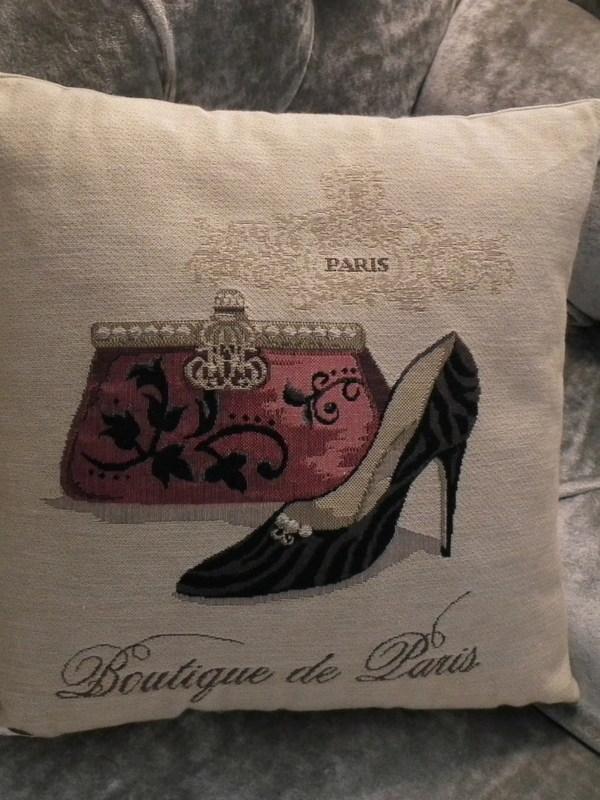 Kussen Boutique de Paris 30 cm x 30 cm