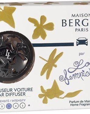 Autoparfumset lolita zwart met vulling