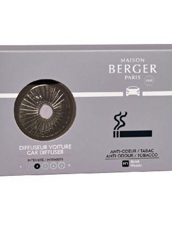 Autoparfumset Anti tabak Woody met vulling