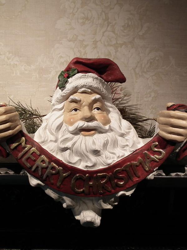 Kerstman Merry Christmas