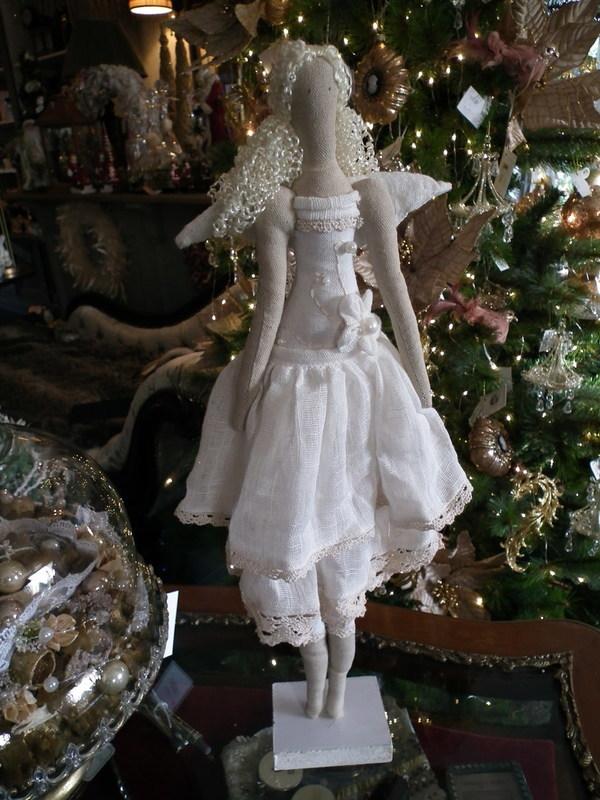 Vintage engel staand