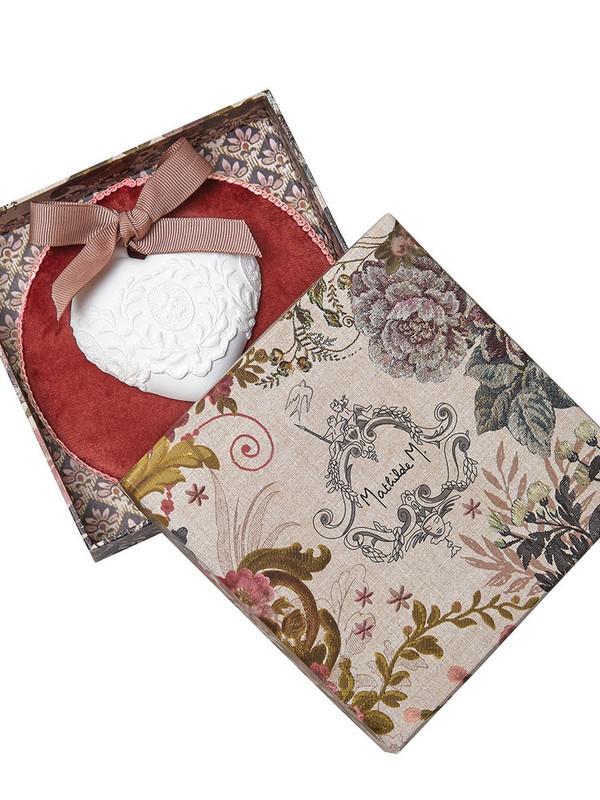 Geparfumeerde decoratie Fluwelen wanddoos - Rose Élixir