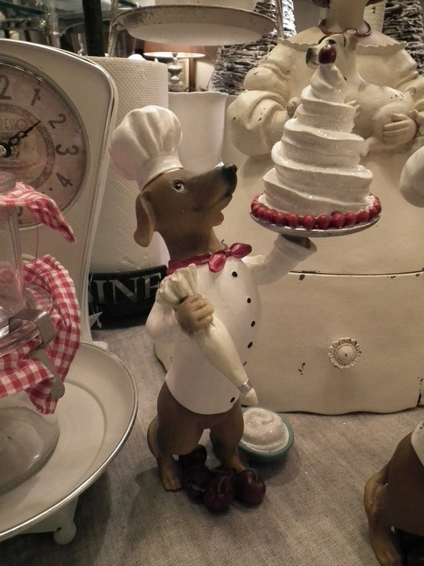 Hond als bakker