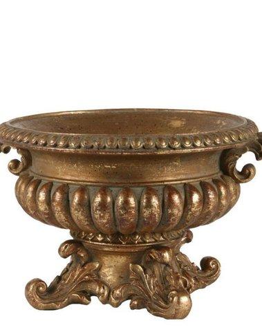 Barok pot goud H 15.5 cm