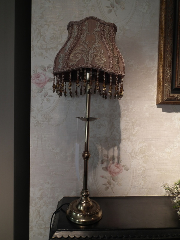 Barok lampenkap rechthoekig