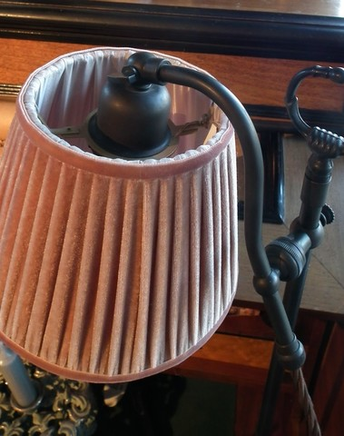 Lampenvoet brons H 57 cm