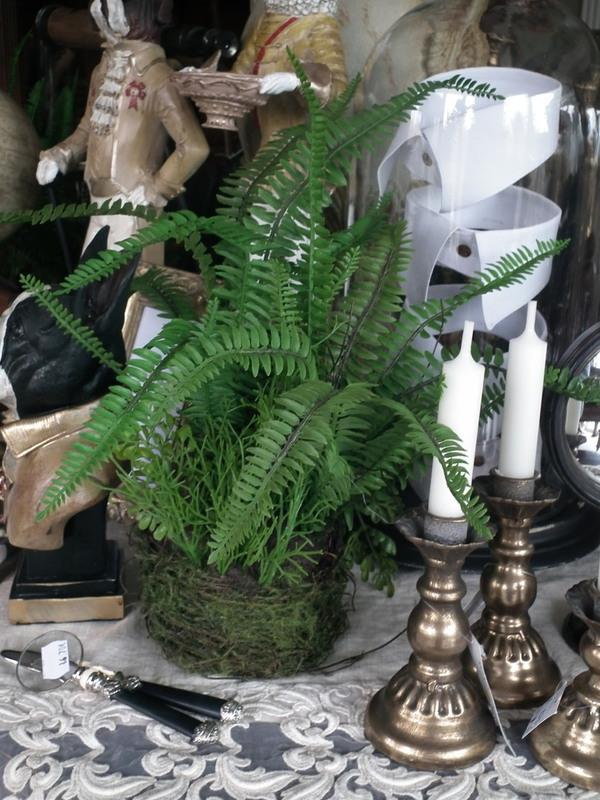 Plant varen groen H 40 cm