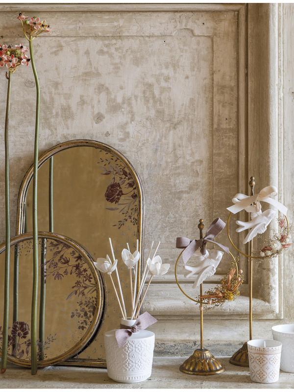 Palazzo Bello - Katoenen Bloem geurende bloemenkroon