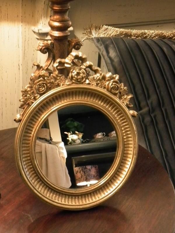 Gouden spiegeltje  om te zetten