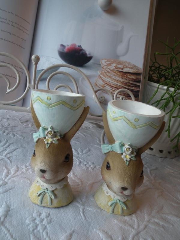 Eierdopje  meisjes konijn