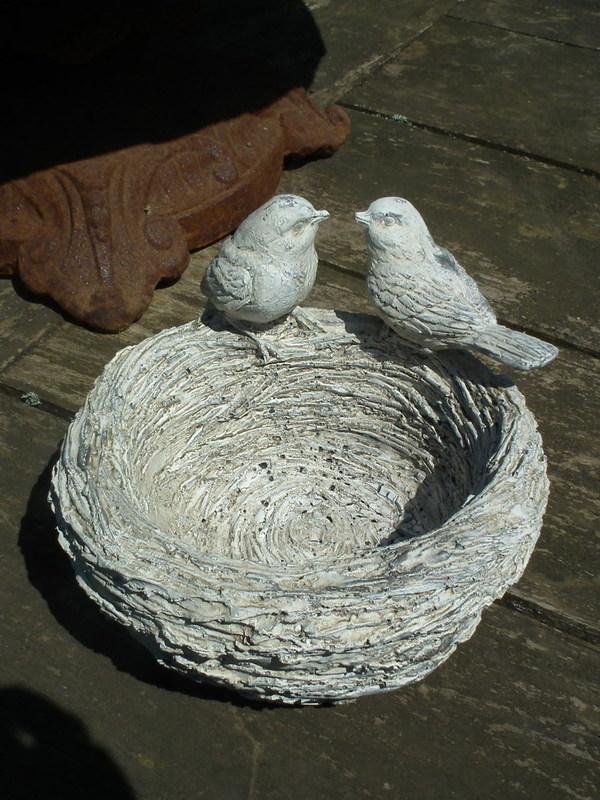2 vogeltjes op nest