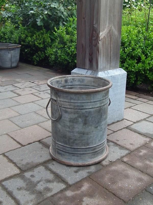 Zinken pot H 26 cm