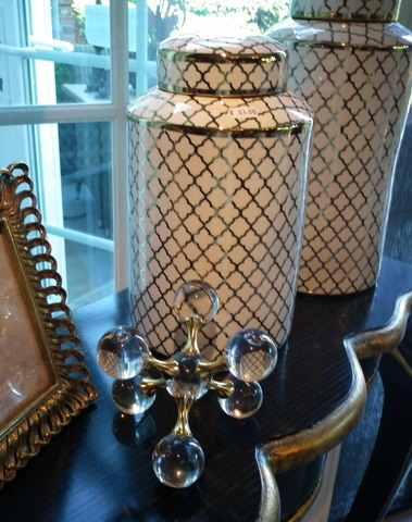 Glazen decoratie