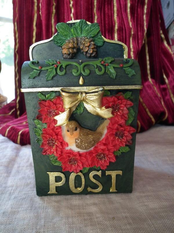 Spaarpot post groen